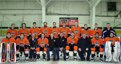 A photo of the West Carleton Inferno.