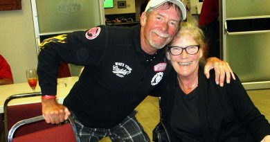 A photo of Mike Oatway and Nancy Atchison.