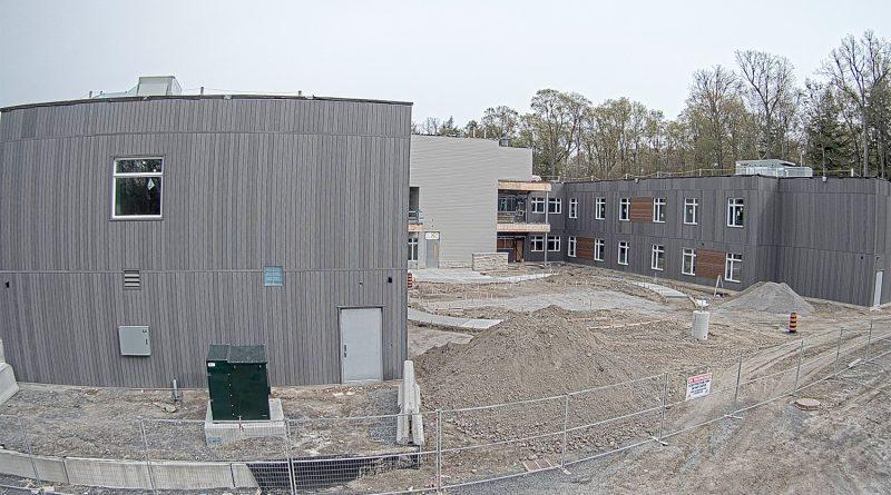 A photo of the new Grove Nursing Home.