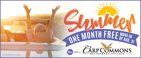 Carp Commons summer promotional deal.