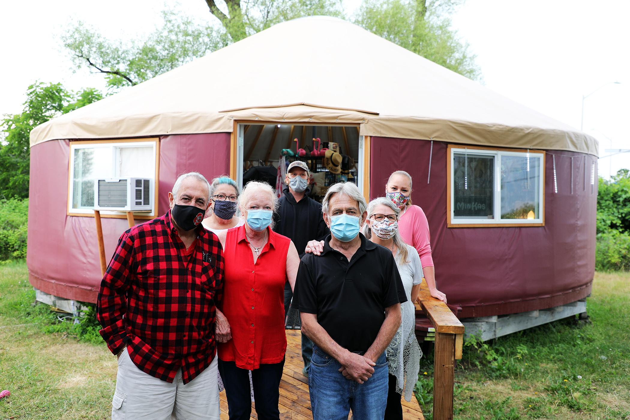 Dunrobin yurt makes triumphant return