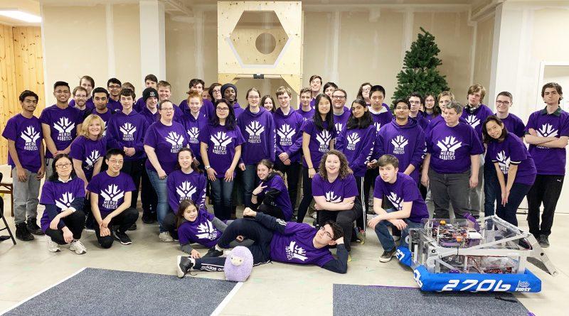 A photo of the Merge Robotics team.