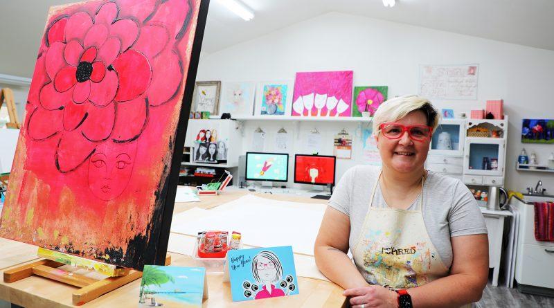 A photo of illustrator Barbi Defazio.