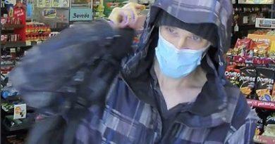 A photo of a man wearing a maslk.