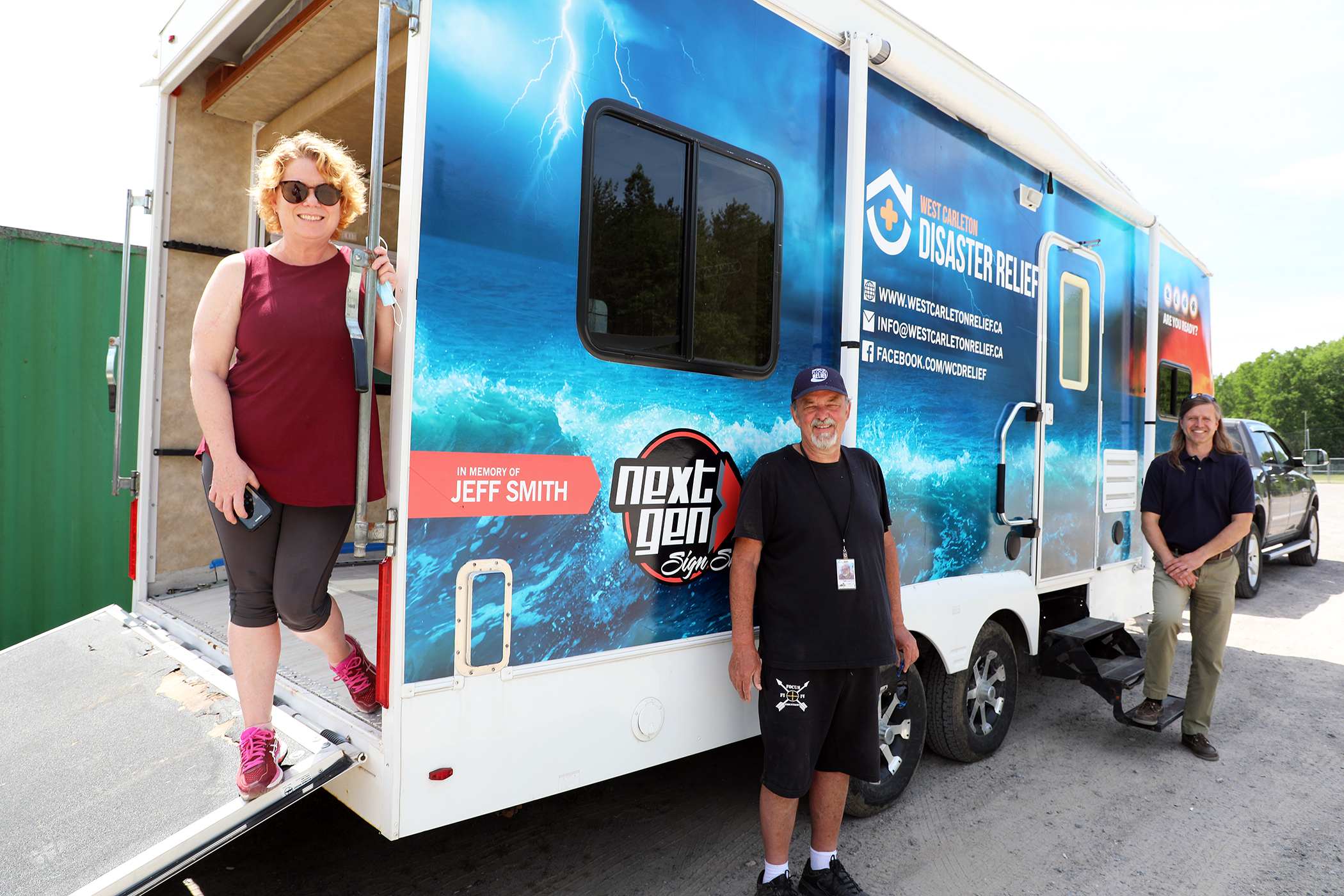 WCDR's new emergency response trailer