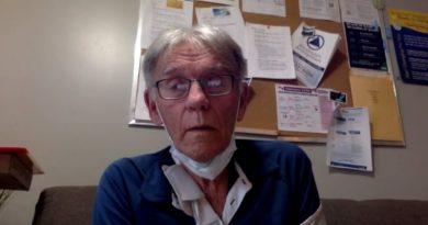 A screengrab of Bill Kirby.