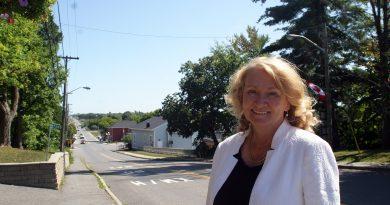 A photo of MP Karen McCrimmon taken in Carp.
