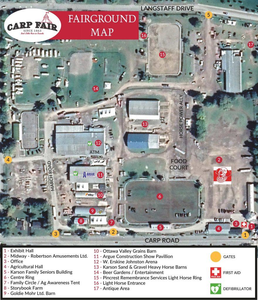 A parking map.