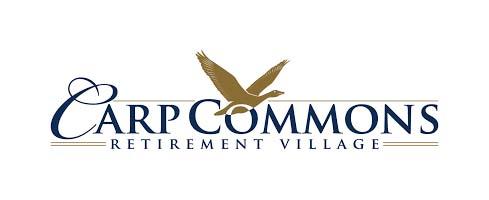 The Carp Commons Retirement Village logo.